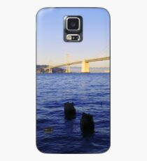Bay Bridge in Late Afternoon Case/Skin for Samsung Galaxy