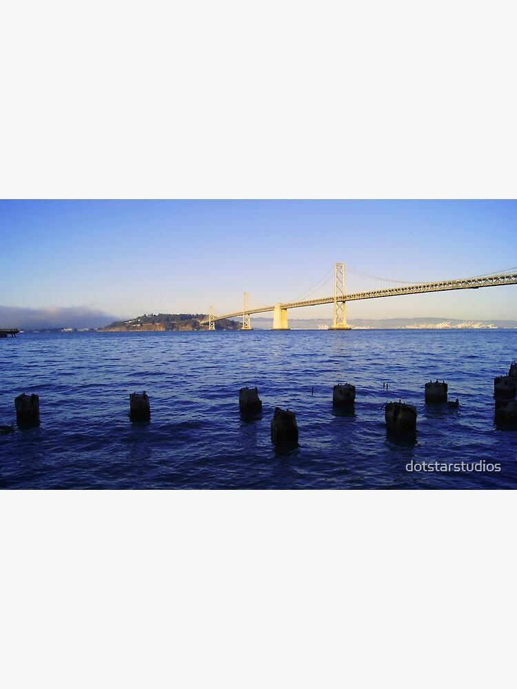 Bay Bridge in Late Afternoon by dotstarstudios