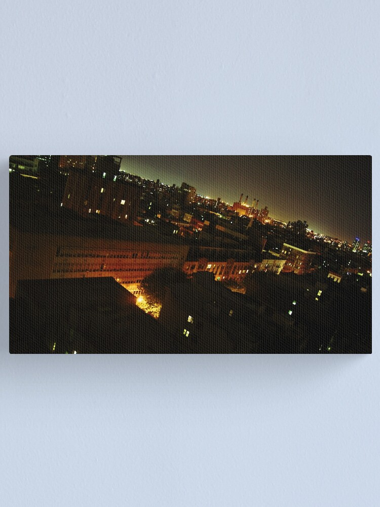 Alternate view of New York at Night Canvas Print