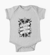 Serenity, Courage & Wisdom Short Sleeve Baby One-Piece