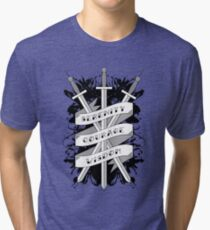 Serenity, Courage & Wisdom Tri-blend T-Shirt