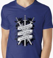 Serenity, Courage & Wisdom Men's V-Neck T-Shirt