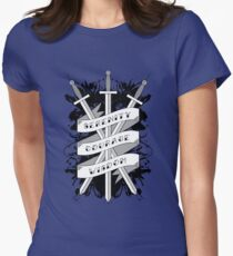 Serenity, Courage & Wisdom Women's Fitted T-Shirt