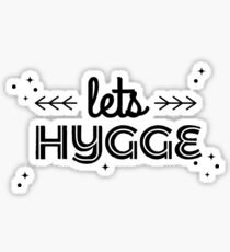 lets hygge  Sticker