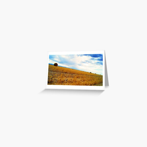Rolling Downhill Greeting Card