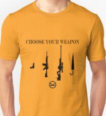 Kingsman, Choose Your Weapon Unisex T-Shirt