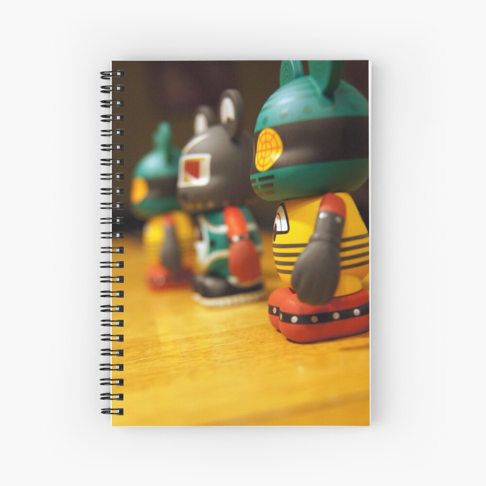 We Three Mickeys Spiral Notebook