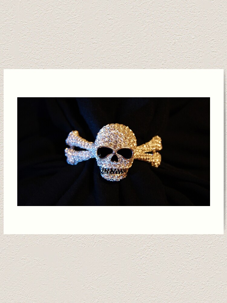 Alternate view of Jolly Roger Jewelry Art Print