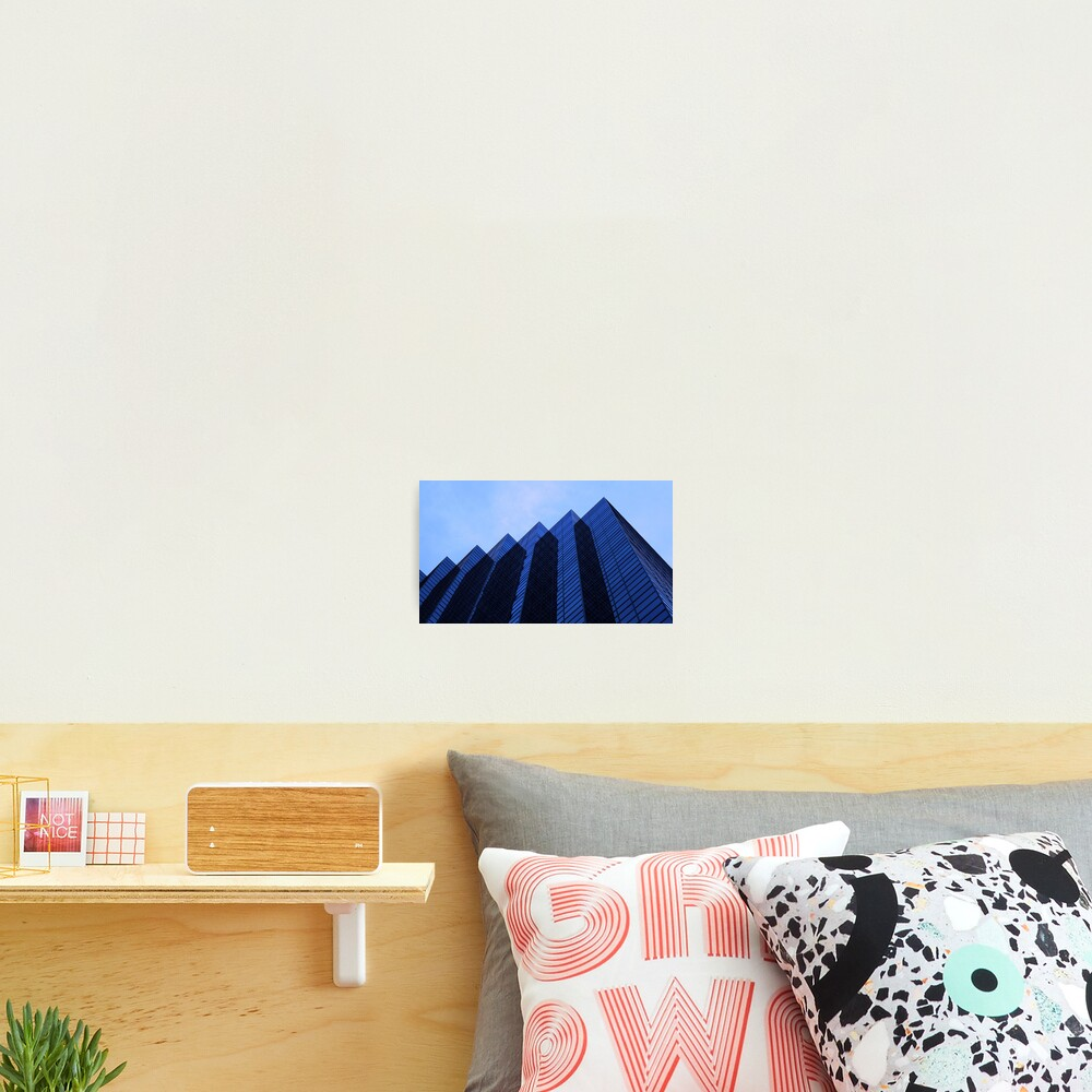 Mountains of Glass Photographic Print