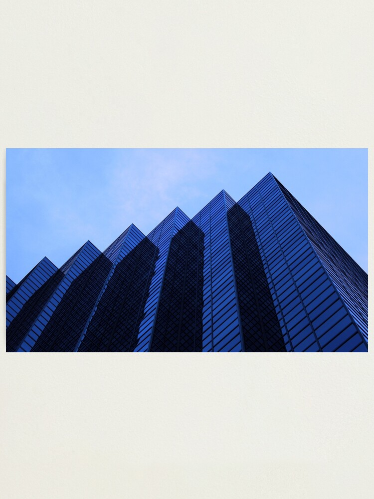 Alternate view of Mountains of Glass Photographic Print