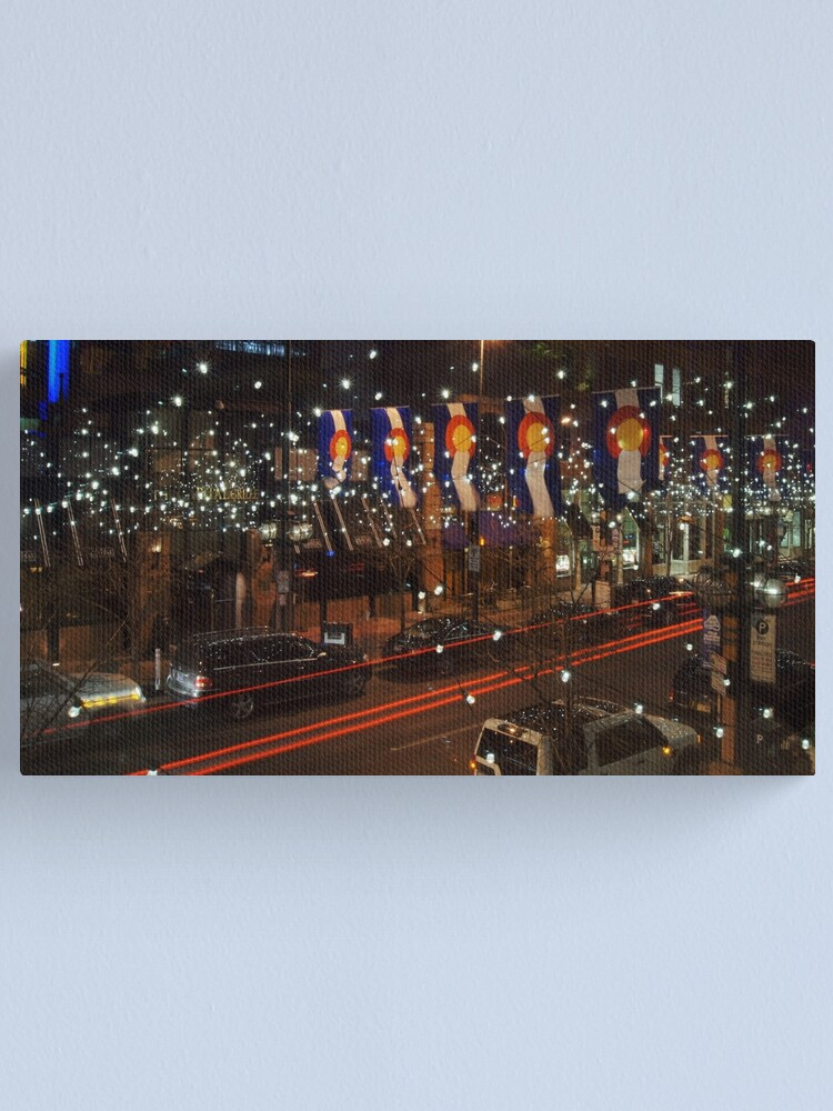 Alternate view of The Lights of Larimer Square Canvas Print
