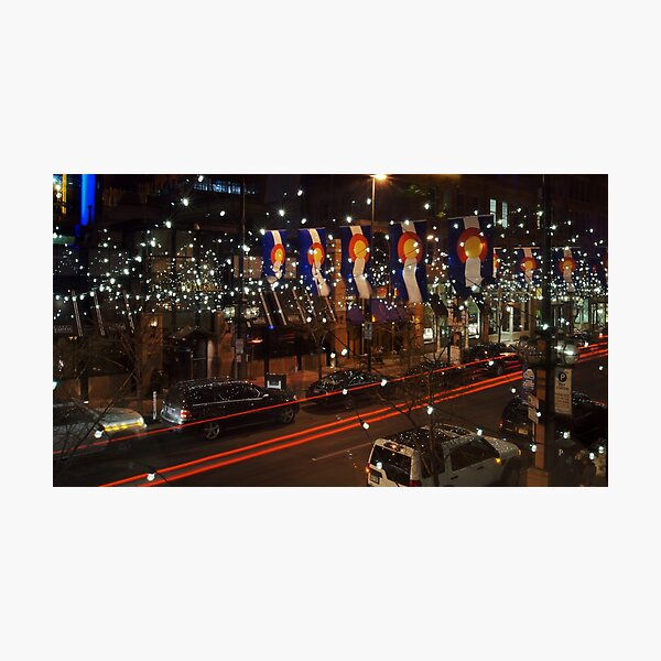 The Lights of Larimer Square Photographic Print