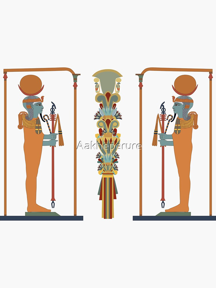Khonsu: god of Healing by Aakheperure