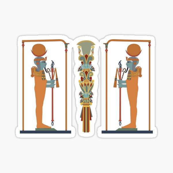 Khonsu: god of Healing Sticker