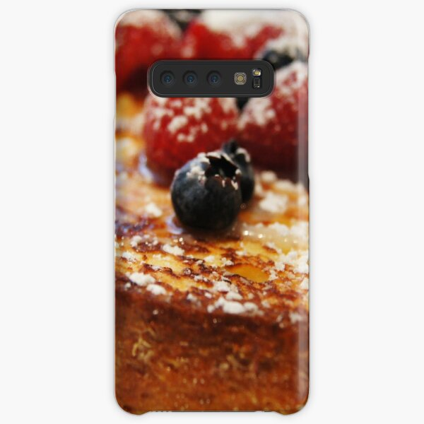 Brioche French Toast with Berries Samsung Galaxy Snap Case