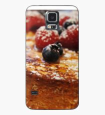 Brioche French Toast with Berries Case/Skin for Samsung Galaxy