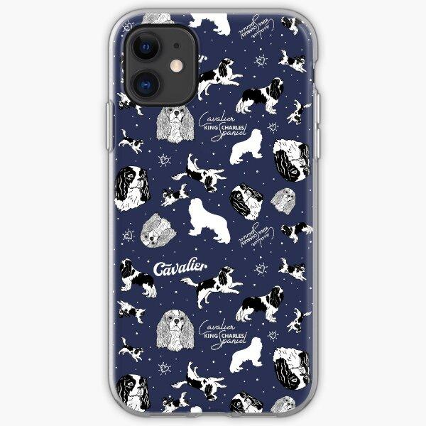 Cavalier King Charles Spaniel - Pattern iPhone Soft Case