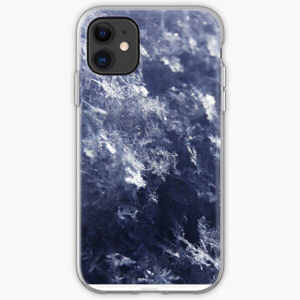 Frosted Snowflakes HDR iPhone Soft Case