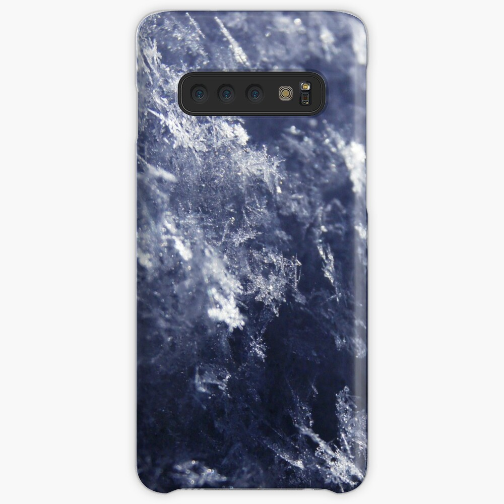 Frosted Snowflakes HDR Case & Skin for Samsung Galaxy