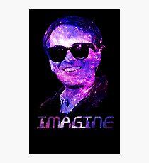 Carl Sagan: Imagine Photographic Print