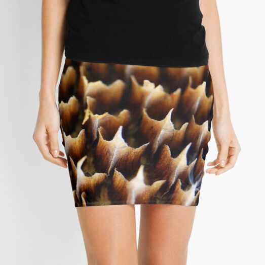 Flames In Nature Mini Skirt