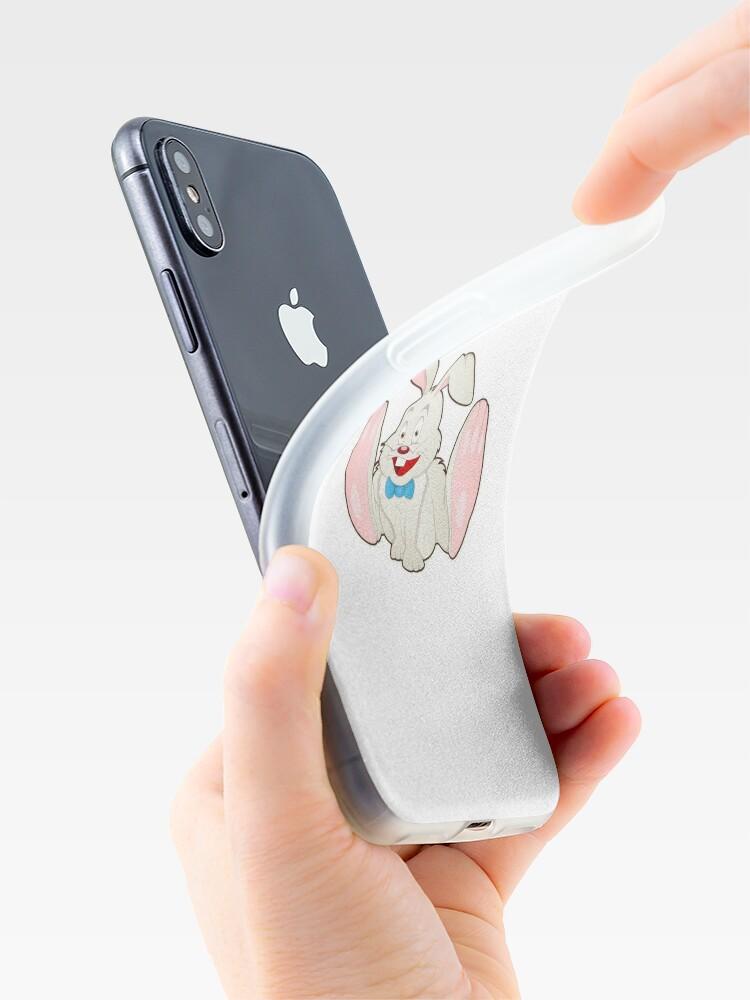 Vista alternativa de Funda y vinilo para iPhone Bunny