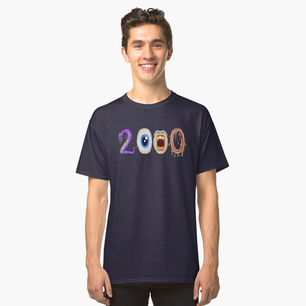 2000 Classic T-Shirt Front