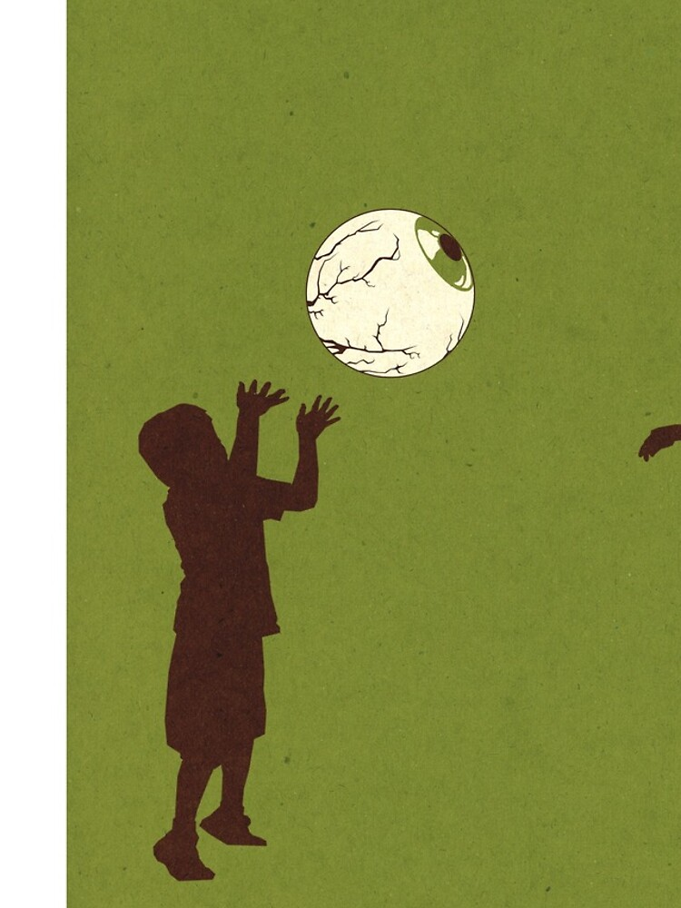 Eye Ball, Green by madsketcher
