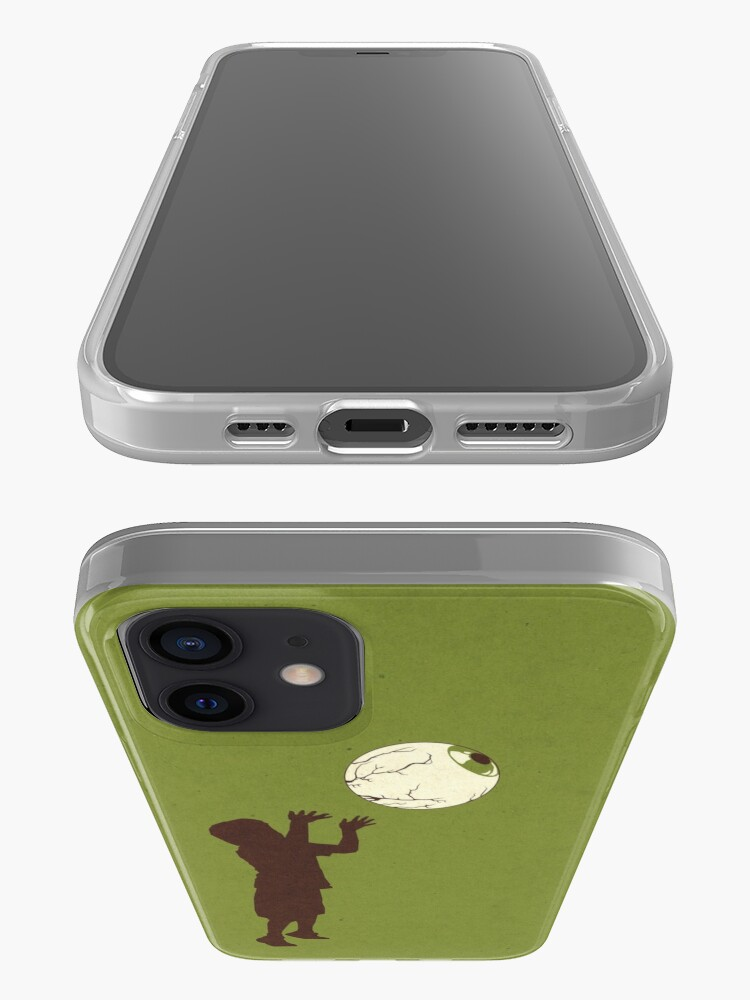 Alternate view of Eye Ball, Green iPhone Case & Cover