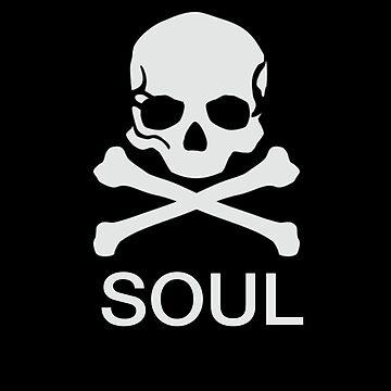 Soul Skull Stickers by Carlynn
