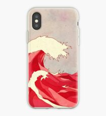 Cherry Waves iPhone Case