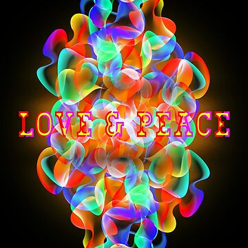 Love & Peace - KID by Hell-Prints