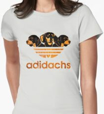 AdiDachshund Women's Fitted T-Shirt