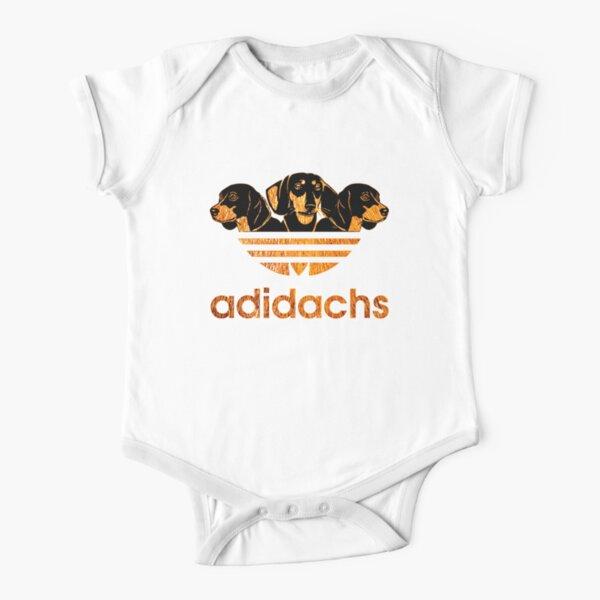 AdiDachshund Short Sleeve Baby One-Piece