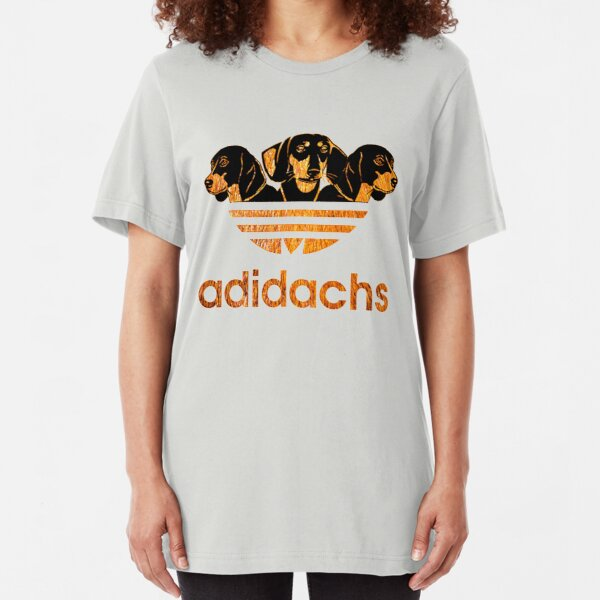 AdiDachshund Slim Fit T-Shirt
