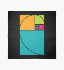 Golden Ratio Spiral - Math Geek Science and Scarf