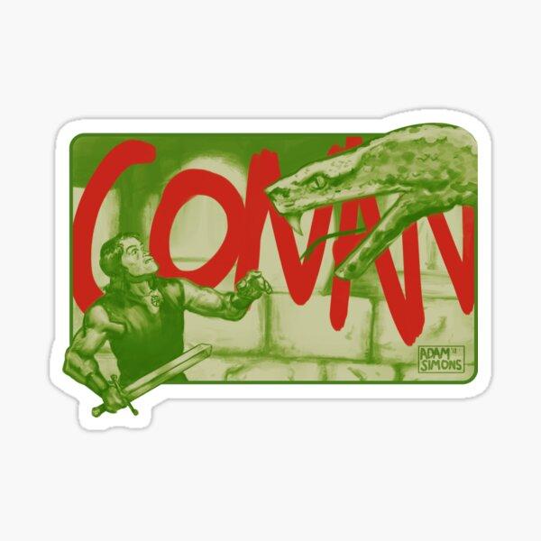 Conan! the barbarian! Sticker