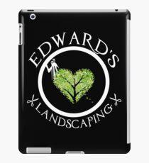 Ed's Landscaping iPad Case/Skin