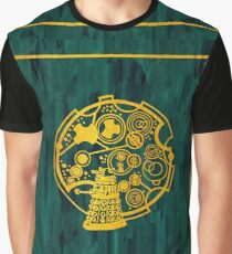 Exterminate! Gold Foil on Acrylic Graphic T-Shirt