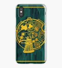 Exterminate! Gold Foil on Acrylic iPhone Case