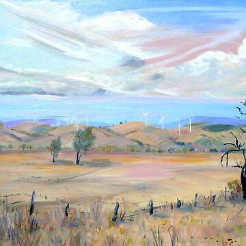 Blayney [NSW] Australia ] Wind Farm by ginnymac