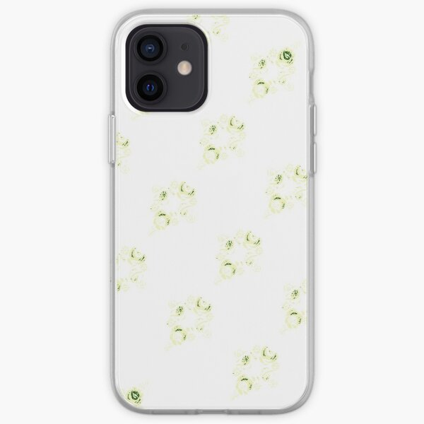 Cream canal flowers  iPhone Soft Case