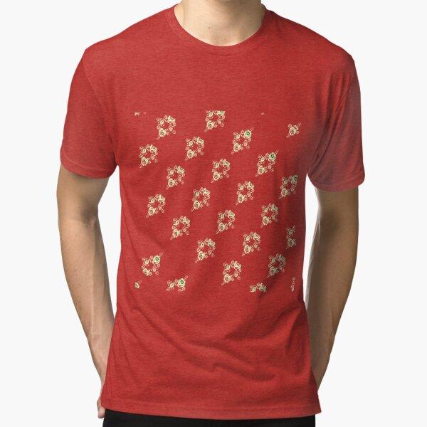 Cream canal flowers  Tri-blend T-Shirt