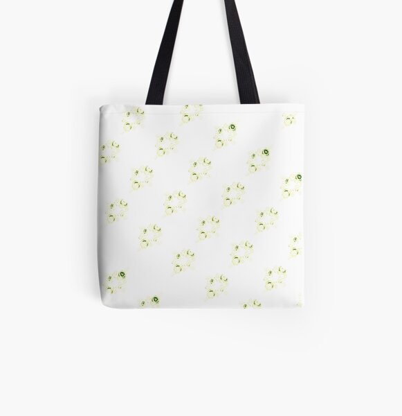 Cream canal flowers  All Over Print Tote Bag