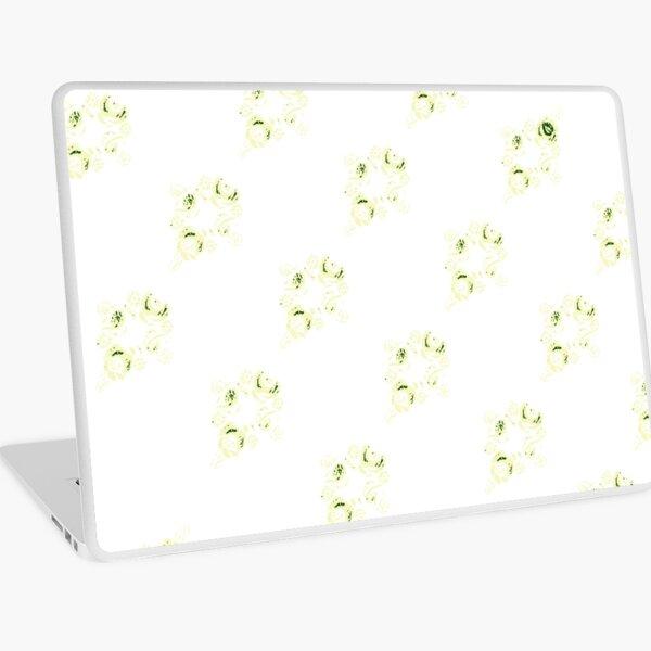 Cream canal flowers  Laptop Skin