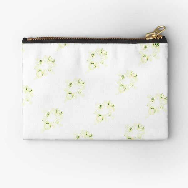 Cream canal flowers  Zipper Pouch