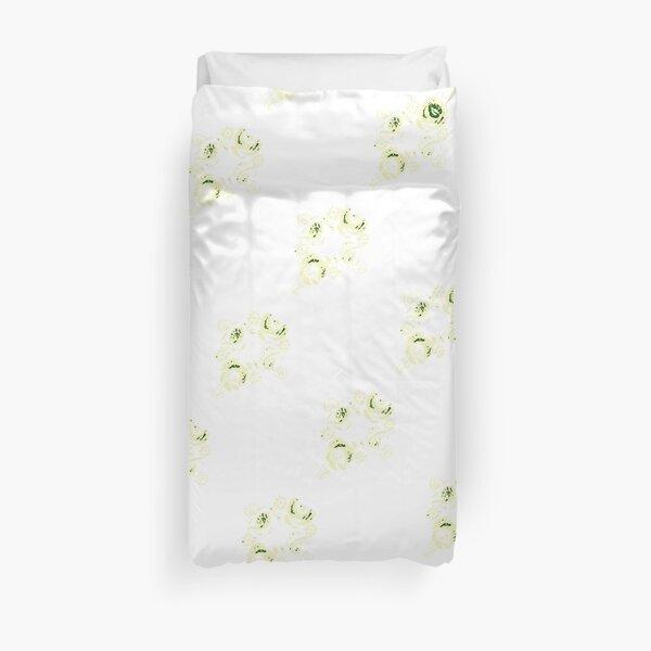 Cream canal flowers  Duvet Cover
