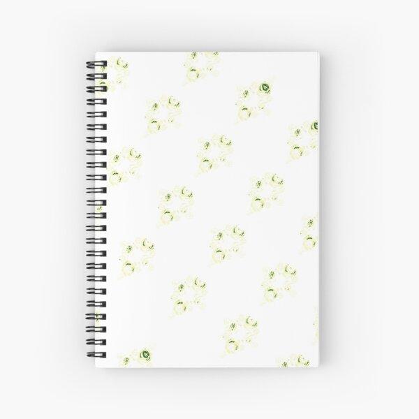 Cream canal flowers  Spiral Notebook