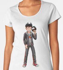 LUZIFER JUNIOR Premium Rundhals-Shirt