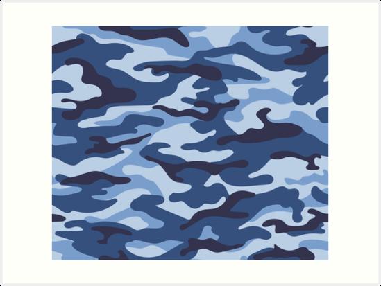 c06955b05e3fbe Blue Camo